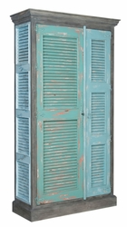 Waterfront Shutter Cabinet
