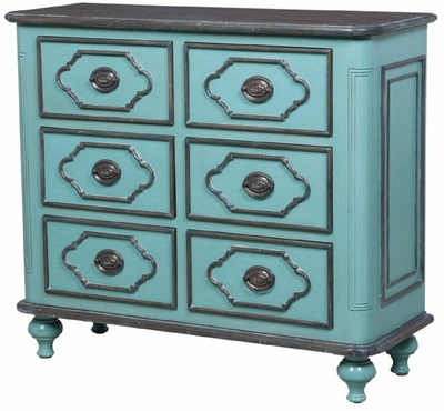Waterfront Six Drawer Hall Chest