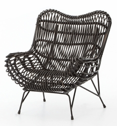 Wicker Occasional  Chair - one pair