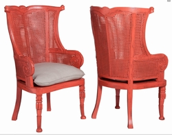 Wicker-Rattan-Bamboo-Cane Chairs