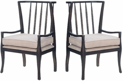 Wing Arm Chair - one pair
