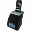 iHome iP21 Spacesaver App-friendly Alarm Clock for iPhone and iPod