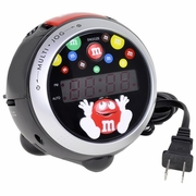 M&M's M10CR7 Projection Clock Radio