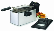 MaxiMatic Elite Gourmet 3.5 qt. Stainless Steel Immersion Deep Fryer