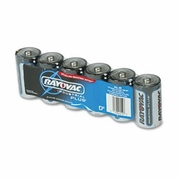 Rayovac Industrial PLUS Alkaline Batteries - D, 6/Pk