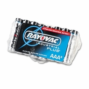 Rayovac Industrial PLUS Alkaline Batteries - AAA, 8/pk