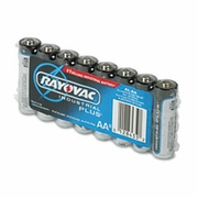 Rayovac Industrial PLUS Alkaline Batteries - AA, 8/Pk