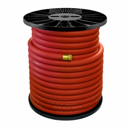 """1"""" x 250 ft Coupled Rubber Fire Hose"""