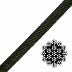 19x7 Spin-Resistant Wire Rope