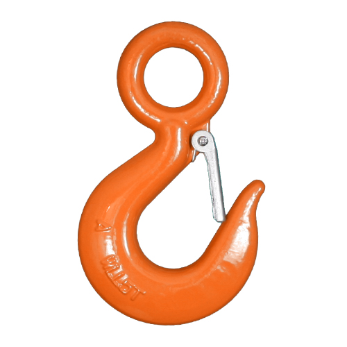 1 Ton Alloy Eye Hoist Hook w/ Latch
