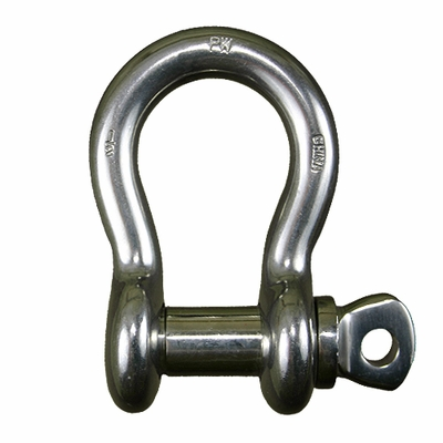 "3/4"" Stainless Steel Screw Pin Anchor Shackle - 4-3/4 Ton WLL"