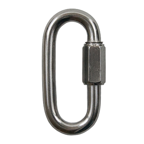 """3/8"""" Type 316 Stainless Steel Quick Link - 2100 lbs WLL"""