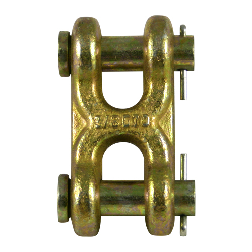 """7/16"""" - 1/2"""" Grade 70 Twin Clevis Link - 11300 lbs WLL"""