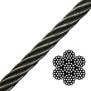 7x19 Stainless Steel Cable - Type 304