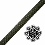 8x19 Spin-Resistant Wire Rope