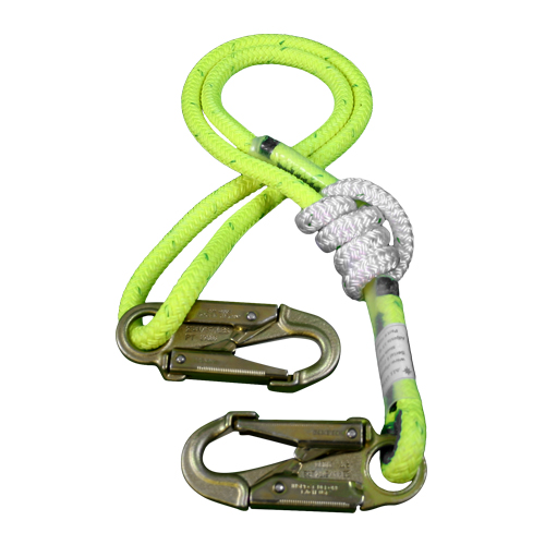 """All Gear 3 - 6 ft Adjustable Lanyard - 1/2"""" Rope"""