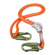"All Gear 4 - 8 ft Adjustable Lanyard - 1/2"" Rope"