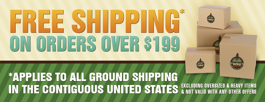 Free Shipping Over $199
