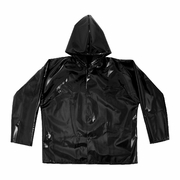 Black Iron Rain Jacket