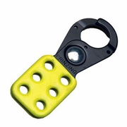 "Brady Yellow Lockout Hasp - 1"" Jaw"