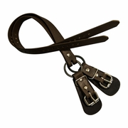 Buckingham Nylon Lower Split Ring Spur Straps
