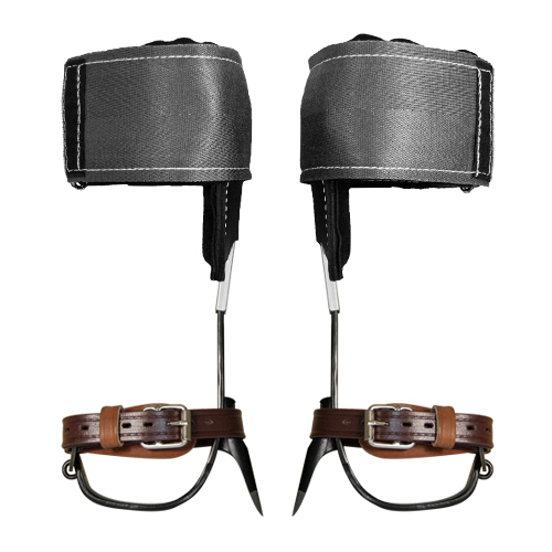 Buckingham Steel Tree Climbing Spurs & Velcro Pads