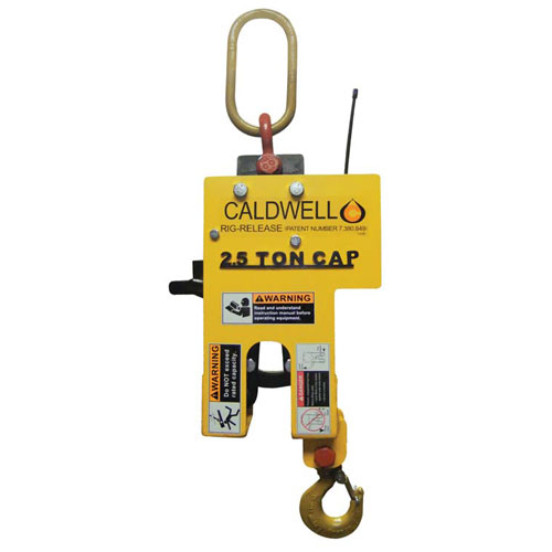 Caldwell 2.5 Ton Rig-Release Hook - Radio Controlled