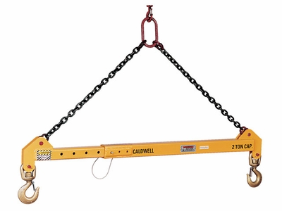 Caldwell 5 Ton x 12 - 20 ft Adjustable Spreader Beam