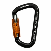 Climb Right Aluminum Carabiner - Triple-Locking