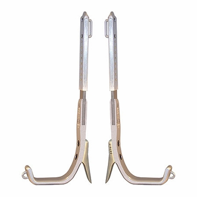 Climb Right CTB Aluminum Tree Climbing Spurs