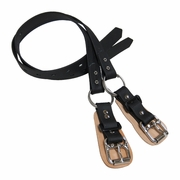 Climb Right Synthetic Lower Split Ring Spur Straps