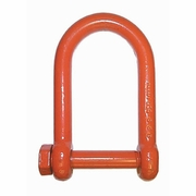 "CM 1-1/2"" Screw Pin Long Reach Shackle - 17 Ton WLL"