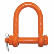 "CM 1"" Bolt Type Long Reach Shackle - 9-1/2 Ton WLL"