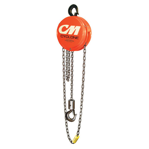 CM Cyclone 646 1 Ton x 20 ft Hand Chain Hoist - #4734