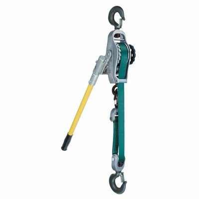 Little Mule 300A 3/4 Ton x 9 ft Lineman's Strap Hoist
