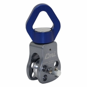 """CMI 1-1/4"""" Swivel Pulley w/ Removable Sheave - 1/2"""" Rope"""