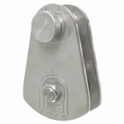 "CMI Stainless Steel Arborist Rigging Block - 3/4"" Rope"