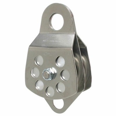 """CMI 3"""" Double Sheave Rope Pulley - 5/8"""" Rope"""