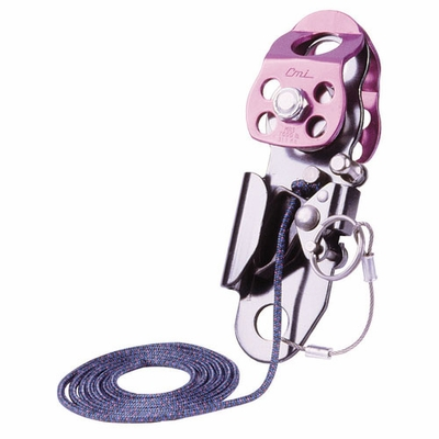 """CMI Double Sheave Micro Hauler Pulley - 1/2"""" Rope"""