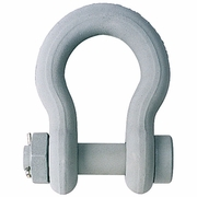 "Crosby 1-1/8"" G-2130CT Bolt Type Anchor Shackle - 9-1/2 Ton WLL - #1260595"