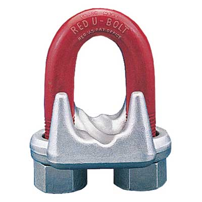 "Crosby 1-3/8"" G-450 Wire Rope Clip - #1010293"