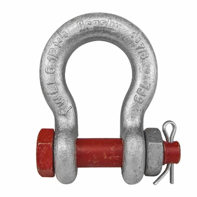 "Crosby 3/8"" G-2130 Bolt Type Anchor Shackle - 1 Ton WLL - #1019470"