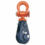"Crosby 421 10"" Snatch Block w/ Hook - 12 Ton WLL - #110720"