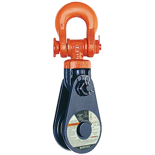 "Crosby 431 24"" RB Snatch Block w/ Shackle - 30 Ton WLL - #119614"