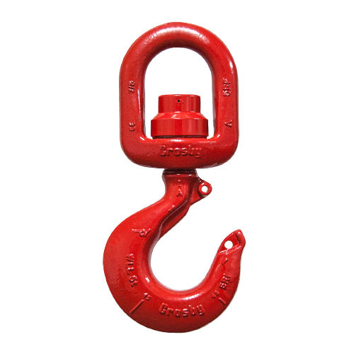 Crosby S-3322B 7 Ton Alloy Ball Bearing Swivel Hook - #1028632