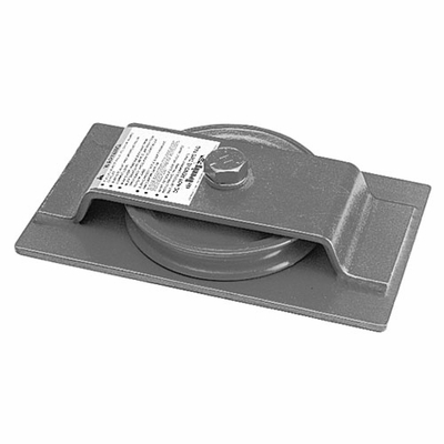 "Crosby S-600-S 8"" BB Horizontal Lead Block - 2-1/2 Ton WLL - #772015"