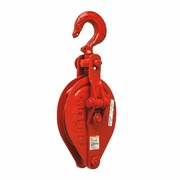 "Crosby C-700 8"" Snatch Block w/ Hook - 3 Ton WLL - #261013"