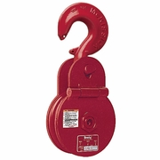 "Crosby C-720 6"" Snatch Block w/ Hook - 7 Ton WLL - #280010"