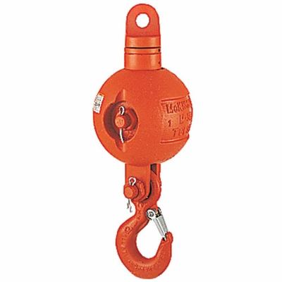 Crosby UB500E Top-Swiveling Overhaul Ball - 25 Ton WLL - #1036270
