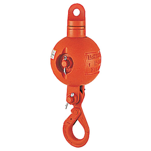 Crosby UB500S Top-Swiveling Overhaul Ball - 10 Ton WLL - #1036095